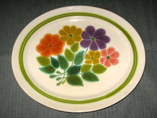 Franciscan. Pottery. Dinnerware : flower pattern dinnerware - pezcame.com
